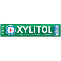 Lotte Xylitol Gum Lime Mint 14...