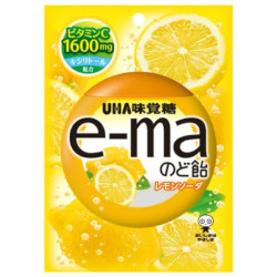 UHA E-ma Throat Lozenge Lemon ...