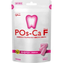 Glico Pos-Ca F Strawberry 100g