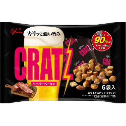 Glico CRATZ Pepper Bacon 102g