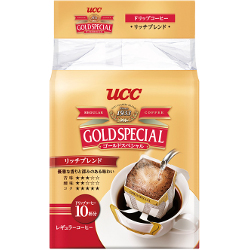 UCC Gold Special Drip Coffee R...