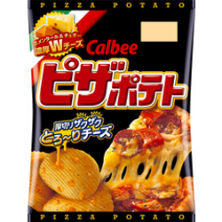 Calbee Pizza Potato 63g