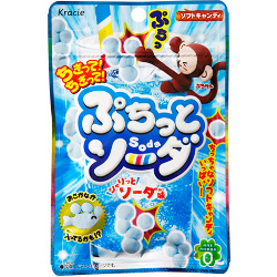 Kracie Puchitto Soda Candy 30g