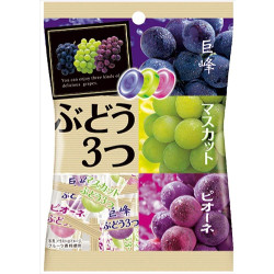 Pine Grape 3 Taste Candy 85g