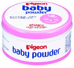 Pigeon Baby Powder Pink Can