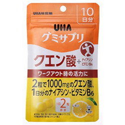 UHA Gummy Supplement Citric Ac...