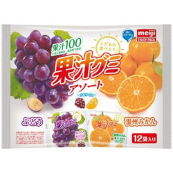 Meiji Juice Gummy Assort 12 Pa...