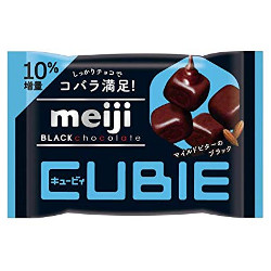 Meiji Black Chocolate Cubie 38...