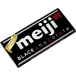 Meiji Black Chocolate Bar 50g
