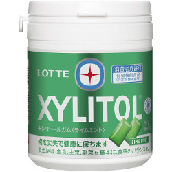 Lotte Xylitol Gum Lime Mint Fa...