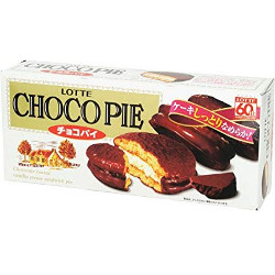 Lotte Chocolate Pie 6 Pieces