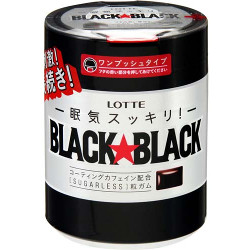 Lotte Black Black Gum One Push...