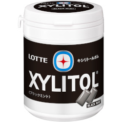 Lotte Xylitol Gum Black Mint F...