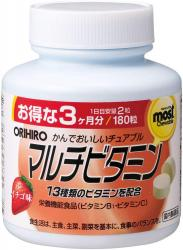 Orihiro MOST chewable multi-vi...