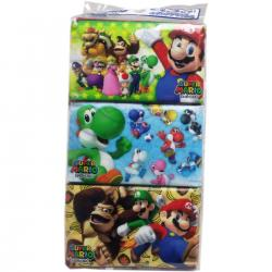 Super Mario Pocket Tissue 16 s...