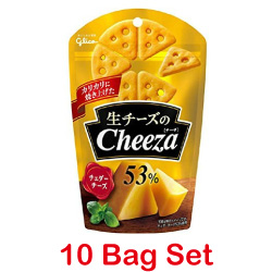 Glico Raw Cheese Cheeza Chedda...