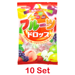Meito Fruit Drop 95g [10 Set]