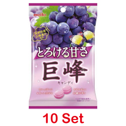 Meito Grape Candy 75g [10 Set]