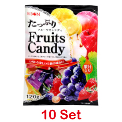 Ribon Plenty Fruits Candy 120g...