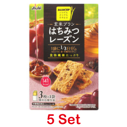 Asahi Brown Rice Honey Raisin ...