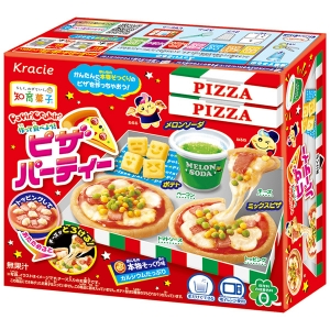 Kracie Popin' Cookin' Pizza DIY kits