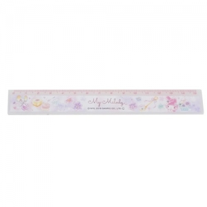 BRAI Enterprise My Melody Slim 15cm Ruler Yumekawa