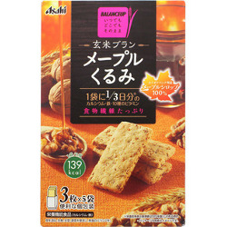 Asahi Brown Rice Bran Maple Walnut 150g