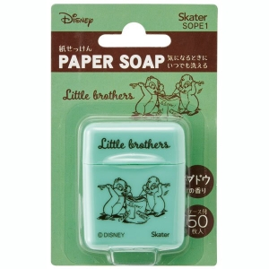 Skater Paper Soap 50 Sheets 【Chip and Dale】