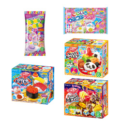 Kracie Popin Cookin 5 Item Bundle (A set)