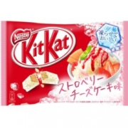 Nestle Kit Kat Strawberry Chee...