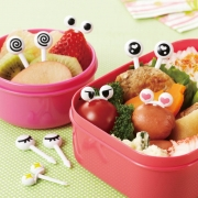 Torune Eyes Food Picks 2 10 Pieces for Bento Box Lunch Box